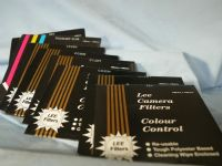 '  8 x LEE ' Lee 8x 100 x 100mm Colour Control Correction Darkroom Filters £19.99